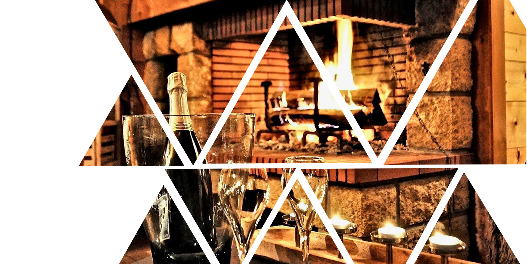 fireplace anf polygon effect
